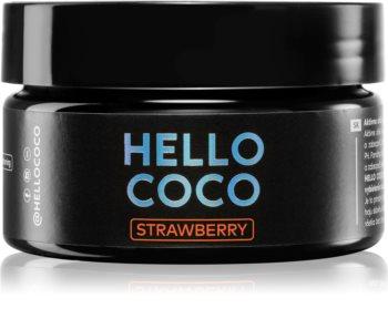 Hello Coco Strawberry Aktív faszén fogfehérítéshez