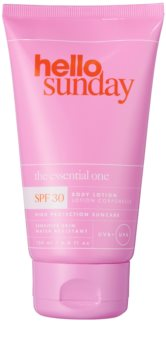 hello sunday the essential one SPF 30 lait solaire