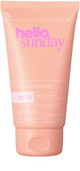 hello sunday the essential one SPF 50 lait solaire