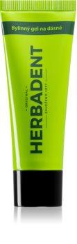 Herbadent Original gel din plante pentru curățare pentru gingii sensibile