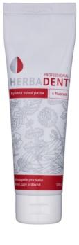 Herbadent Professional dentífrico herbal com fluór