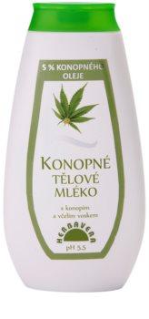 Herbavera Body leche corporal con aceite de cáñamo