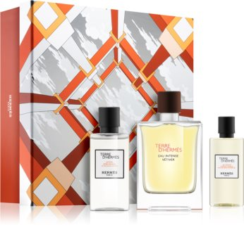 Hermès Terre d'Hermès Eau Intense Vétiver dárková sada III. pro muže