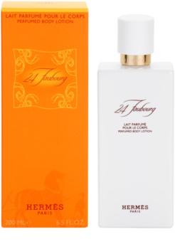 Hermès 24 Faubourg telové mlieko pre ženy