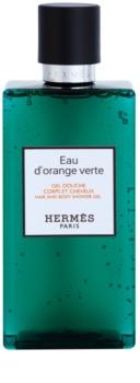 Hermès Eau d'Orange Verte sprchový gel na vlasy a tělo unisex