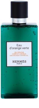 Hermès Eau d'Orange Verte душ гел  за коса и тяло унисекс