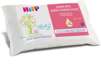 Hipp Babysanft мокри почистващи кърпички за деца от раждането им