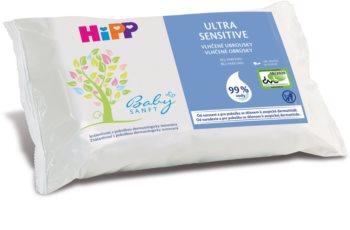 Hipp Babysanft Ultra Sensitive Toalhitas húmidas para a limpeza das crianças sem perfume