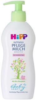 Hipp Babysanft Sensitive leite corporal para pele seca