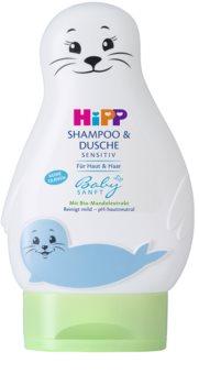 Hipp Babysanft champô infantil cabelo e corpo