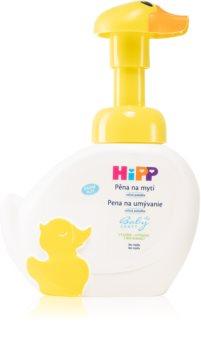 Hipp Babysanft espuma de limpeza para bebés 0+