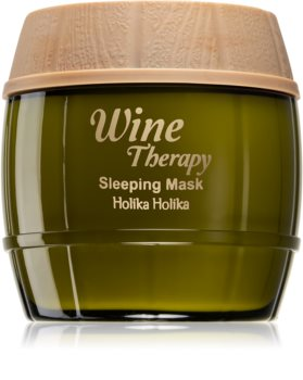 Holika Holika Wine Therapy maschera notte idratante
