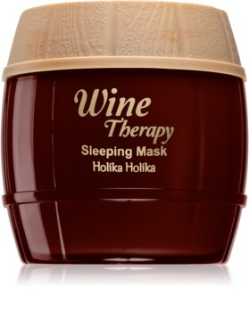 Holika Holika Wine Therapy masque de nuit anti-rides