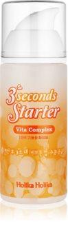 Holika Holika 3 Seconds Starter beruhigendes Serum gegen das Erröten der Haut mit Vitamin C