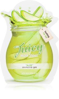 Holika Holika Juicy Mask Sheet Aloe zklidňující plátýnková maska