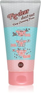 Holika Holika Pig Clear schiuma detergente attiva per pori dilatati