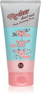 Holika Holika Pig Nose Clear schiuma detergente attiva per pori dilatati