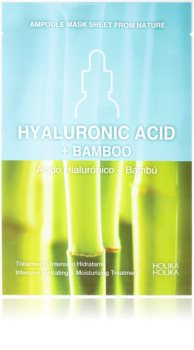 Holika Holika Ampoule Mask Sheet From Nature Hyaluronic Acid + Bamboo masca de celule cu efect hidrantant si hranitor