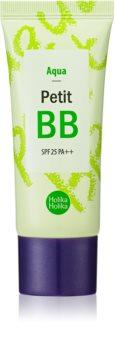 Holika Holika Petit BB Aqua cremă BB nuanțatoare pentru piele sensibilă și intolerantă SPF 25