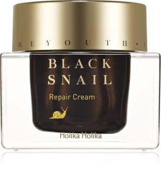 Holika Holika Prime Youth Black Snail odżywczy krem regenerujący z ekstraktem ze śluzu ślimaka
