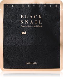 Holika Holika Prime Youth Black Snail maska hydrożelowa o intensywnym działaniu