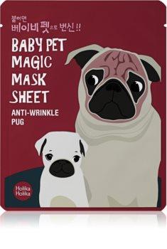 Holika Holika Magic Baby Pet máscara em folha com efeito antirrugas