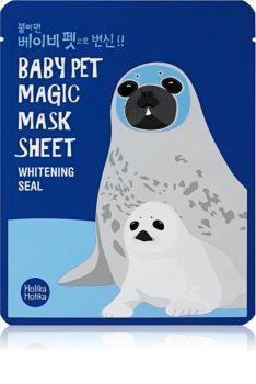 Holika Holika Magic Baby Pet plátýnková maska s rozjasňujícím účinkem