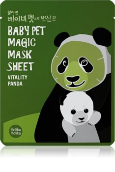 Holika Holika Magic Baby Pet maschera viso rivitalizzante e illuminante
