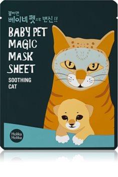 Holika Holika Magic Baby Pet frissítő és nyugtató maszk az arcra