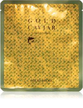 Holika Holika Prime Youth Gold Caviar feuchtigkeitsspendende Maske mit Kaviar mit Goldpuder