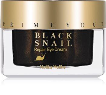 Holika Holika Prime Youth Black Snail възстановяващ нощен крем с екстракт от охлюв