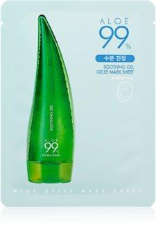 Holika Holika Aloe 99% masca gel pentru piele sensibila si inrosita