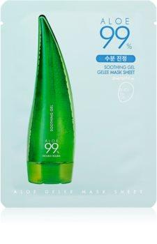 Holika Holika Aloe 99% máscara gelatinosa para pele sensível e com vermelhidão