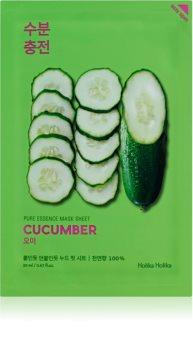 Holika Holika Pure Essence Cucumber Soothing Sheet Mask for Sensitive, Redness-Prone Skin