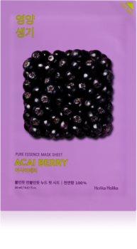 Holika Holika Pure Essence Acai Berry Exfoliationstuchmaske
