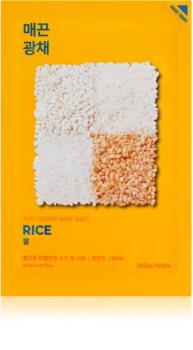 Holika Holika Pure Essence Rice Brightening and Revitalising Sheet Mask