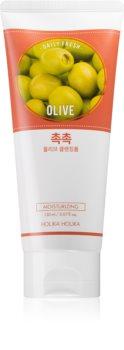 Holika Holika Daily Fresh Olive mousse detergente idratante