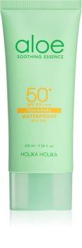 Holika Holika Aloe Soothing Essence gel solar hidratante SPF 50+