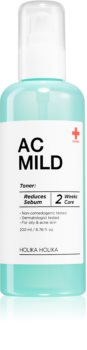 Holika Holika AC Mild Sebum Reduce Calming Toner for Oily Skin Prone to Acne