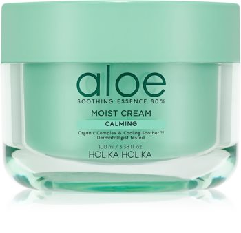 Holika Holika Aloe Soothing Essence hydratační krém na obličej s chladivým účinkem