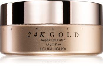 Holika Holika Prime Youth 24K Gold Hydrogel Eye Mask With 24 Carat Gold