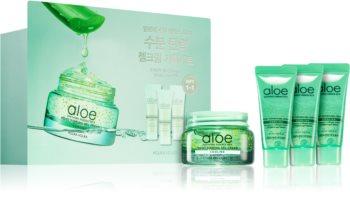 Holika Holika Aloe Soothing Essence zestaw kosmetyków dla nawilżenia skóry ciała