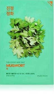 Holika Holika Pure Essence Mugwort plátýnková maska se zklidňujícím účinkem