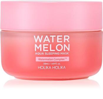 Holika Holika Watermelon Mask intenzivní noční maska pro rychlou regeneraci suché a dehydrované pleti