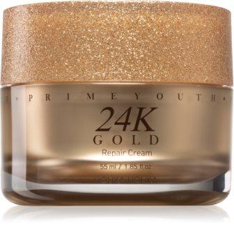 Holika Holika Prime Youth 24K Gold crema intensiv regeneratoare cu aur de 24 de karate