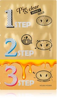Holika Holika Pig Nose Honey Gold почистваща лепенка за запушени пори по носа