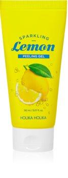 Holika Holika Sparkling Lemon gel exfoliant de curatare