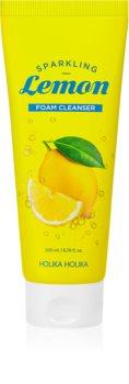 Holika Holika Sparkling Lemon spuma de curatat cu lamaie si lamaita