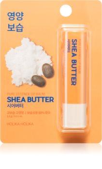Holika Holika Pure Essence Shea Butter хидратиращ балсам за устни в тубичка с масло от шеа
