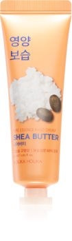 Holika Holika Pure Essence Shea Butter hydratačný krém na ruky s bambuckým maslom